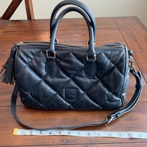 Dooney & Bourke Quilted Crossbody Tote Purse
